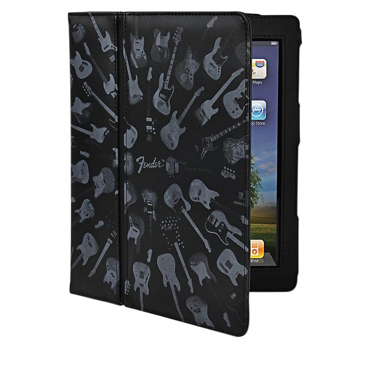 Hal LeonardContour Design Fender iPad Black Guitar Army Folio Case