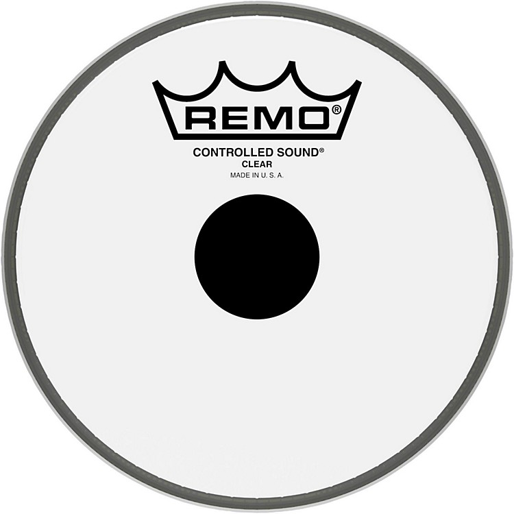 Remo Controlled Sound Black Dot Batter Head  6 in.