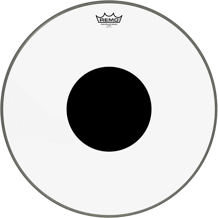 RemoControlled Sound Clear with Black Dot Bass Drum20 in.