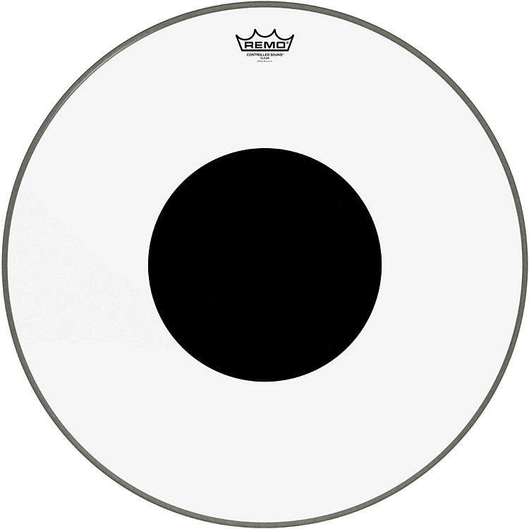 RemoControlled Sound Clear with Black Dot Bass Drum22 in.
