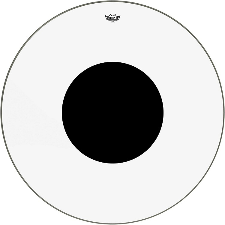 RemoControlled Sound Clear with Black Dot Bass Drum36 in.