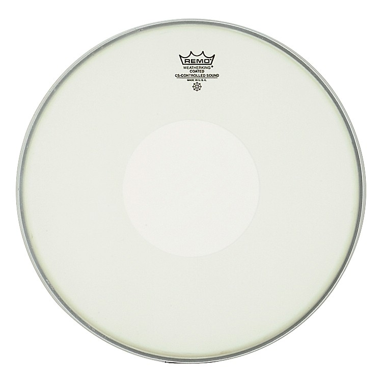 Remo Controlled Sound Coated Dot Top Snare Batter  15 in.