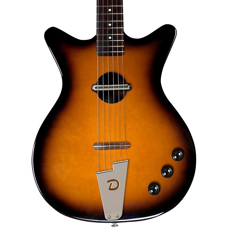 Danelectro Convertible Acoustic-Electric Guitar Tobacco Sunburst