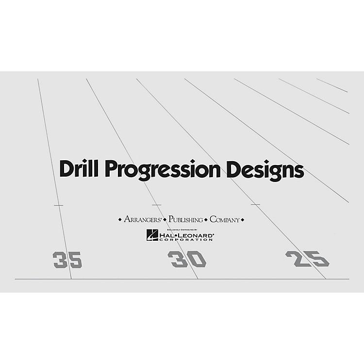 ArrangersCool Blue (Drill Design 83) Marching Band