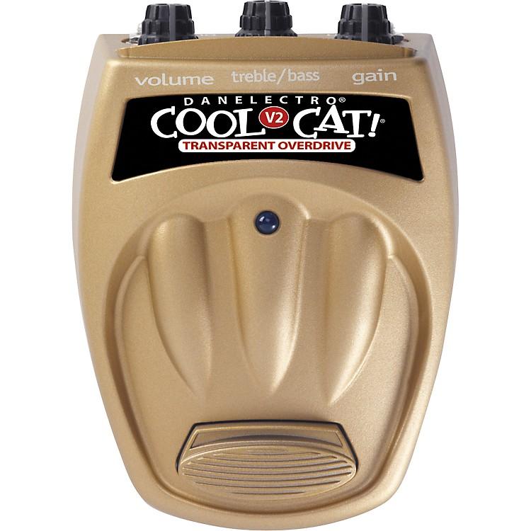 DanelectroCool Cat CTO-2 Transparent Overdrive V2 Guitar Effects Pedal