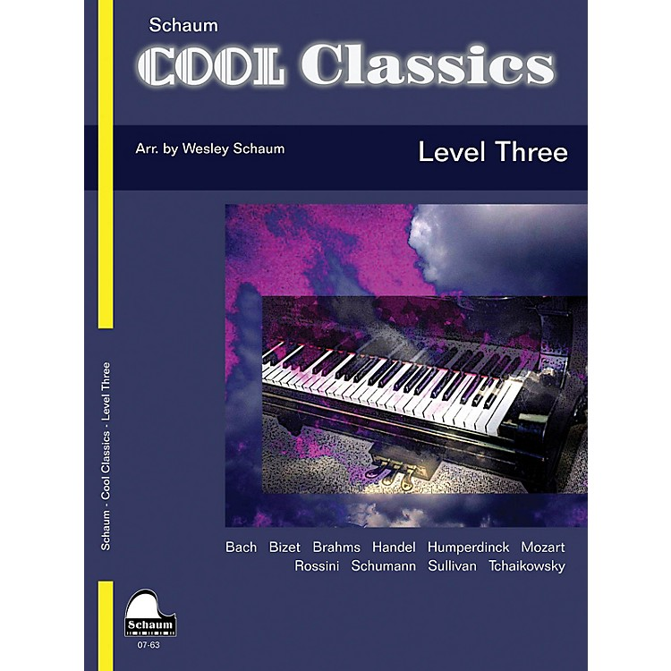 SCHAUMCool Classics, Lev 3 Educational Piano Series Softcover