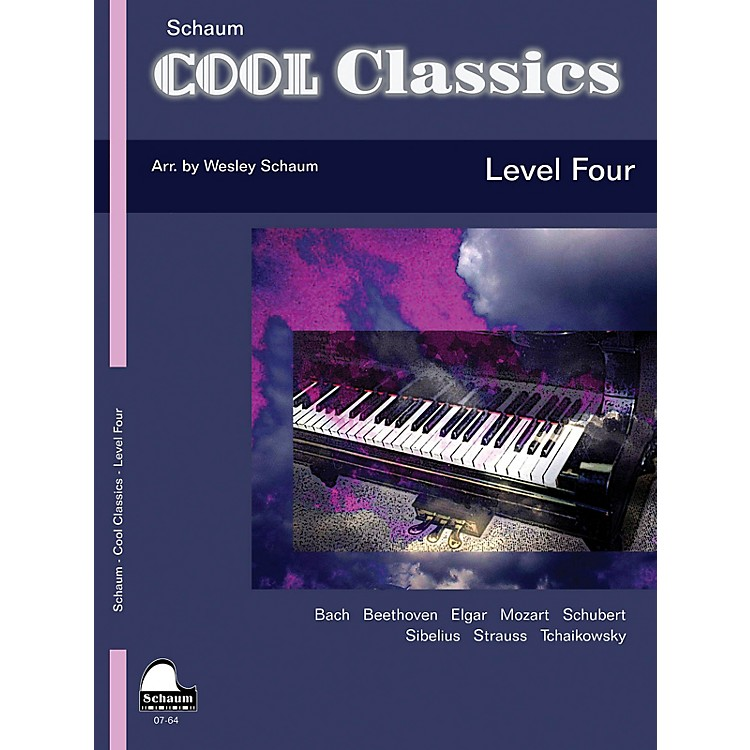 SCHAUMCool Classics, Lev 4 Educational Piano Series Softcover