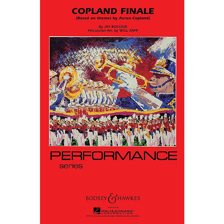 Boosey and HawkesCopland Finale Marching Band Level 4 Composed by Jay Bocook Arranged by Will Rapp