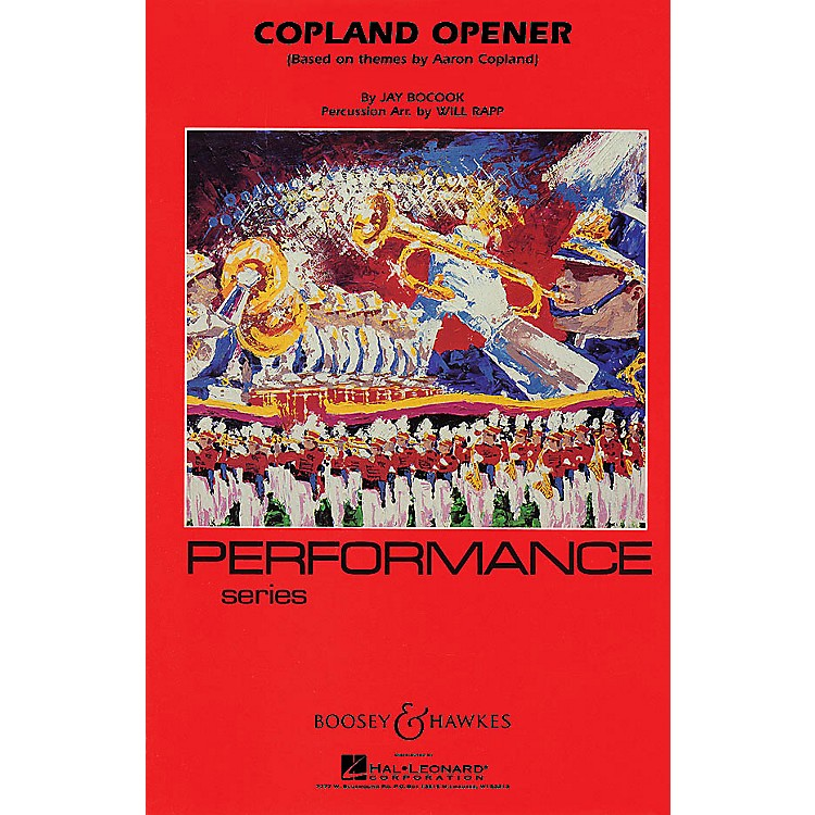 Hal LeonardCopland Opener - Full Score Concert Band Composed by Jay Bocook Arranged by Will Rapp