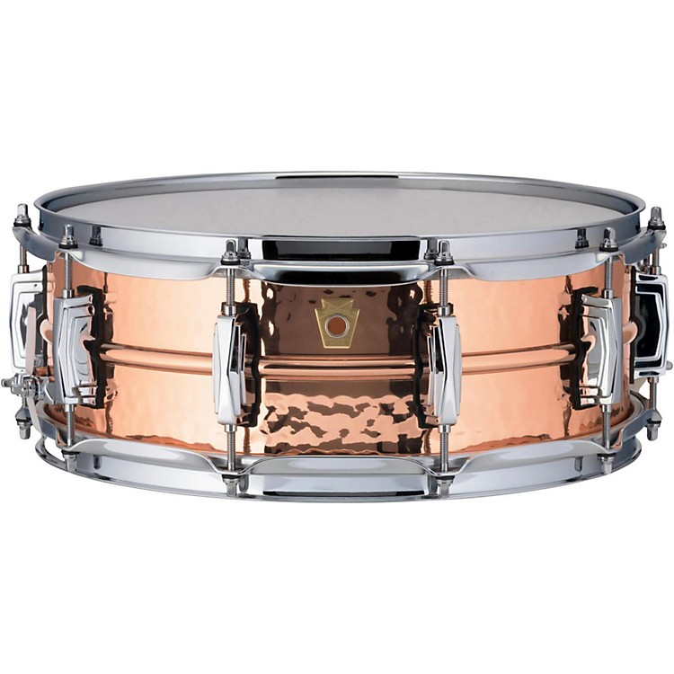 LudwigCopper Phonic Hammered Snare Drum14 x 5 in.Copper Finish with Imperial Lugs
