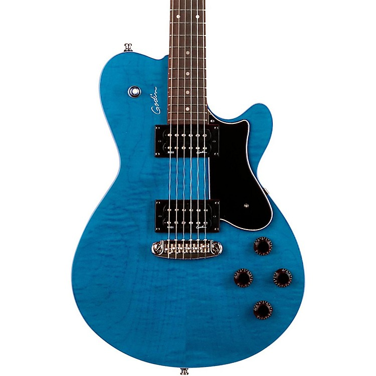 GodinCore HB GT Electric GuitarDenim Flame