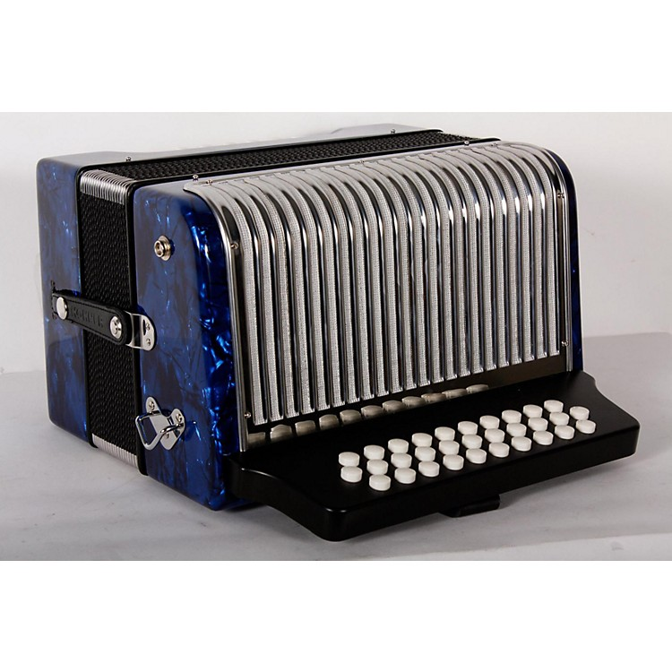 HohnerCorona II 3500 FBbEb AccordionDark Blue888365910314