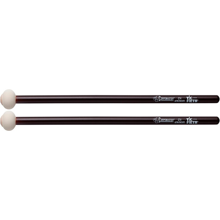 Vic Firth Corpsmaster Marching Timpani Mallets Ultra Staccato