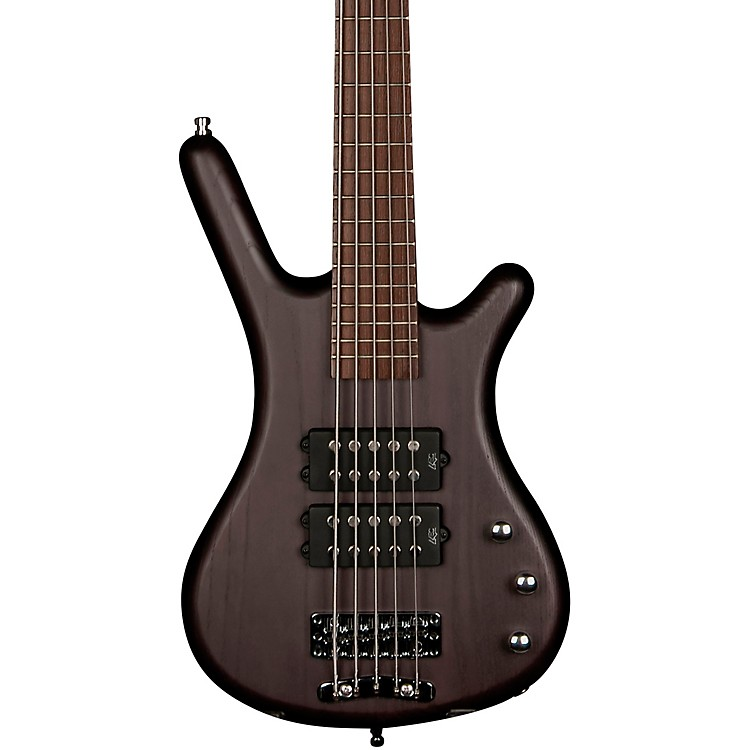 WarwickCorvette $$ 5-String Electric Bass Guitar with Wenge FingerboardNirvana Black Oil