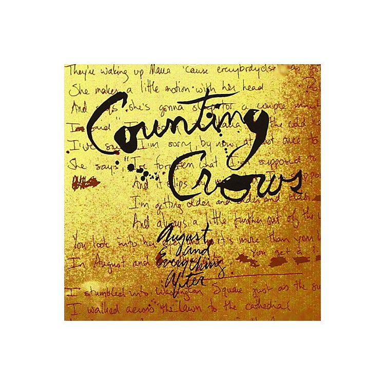 Alliance Counting Crows - August And Everything After
