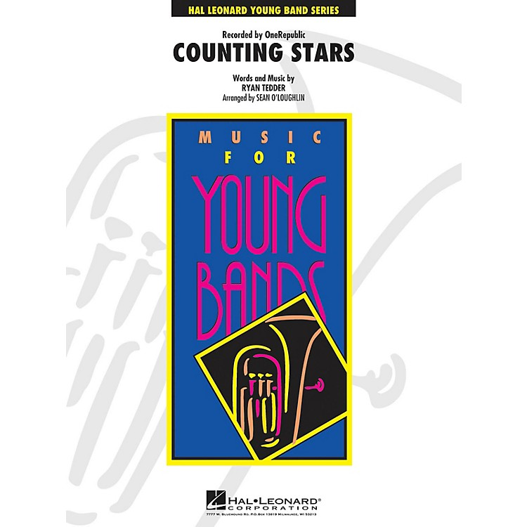 Hal LeonardCounting Stars - Young Concert Band Series Level 3 arranged by Sean O'Loughlin