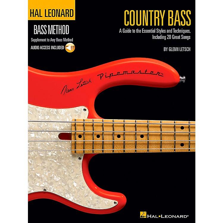 Hal LeonardCountry Bass - Hal Leonard Bass Method Supplement To Any Bass Method Book/CD