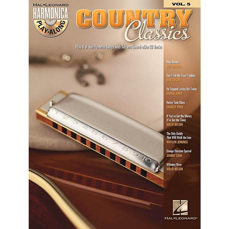 Hal LeonardCountry Classics (Harmonica Play-Along Volume 5) Harmonica Play-Along Series Softcover with CD