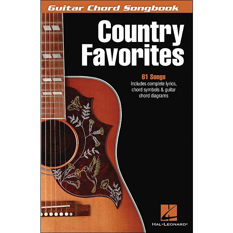Hal LeonardCountry Favorites - Guitar Chord Songbook