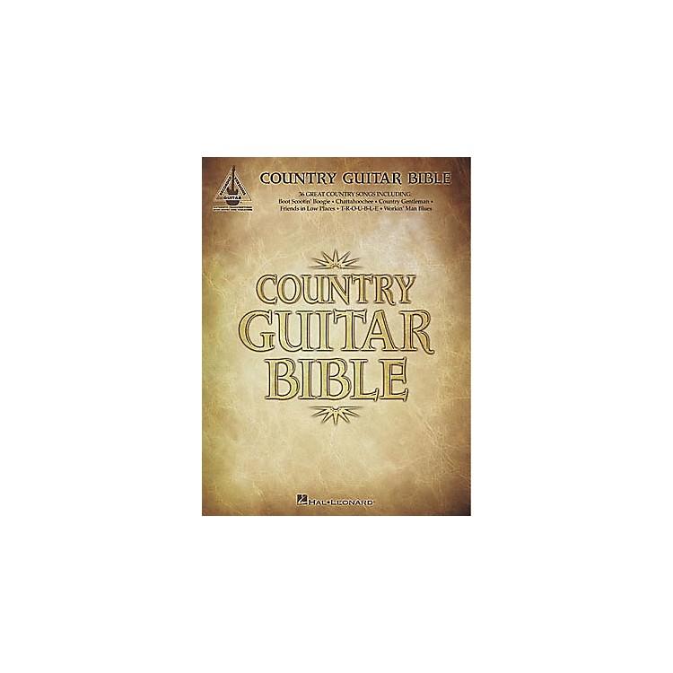 Hal LeonardCountry Guitar Bible Tab Book