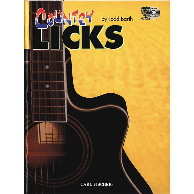 Carl FischerCountry Guitar Licks (Book/CD)