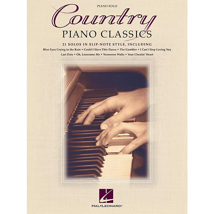 Hal Leonard Country Piano Classics - 21 Solos in Slip-Note Style
