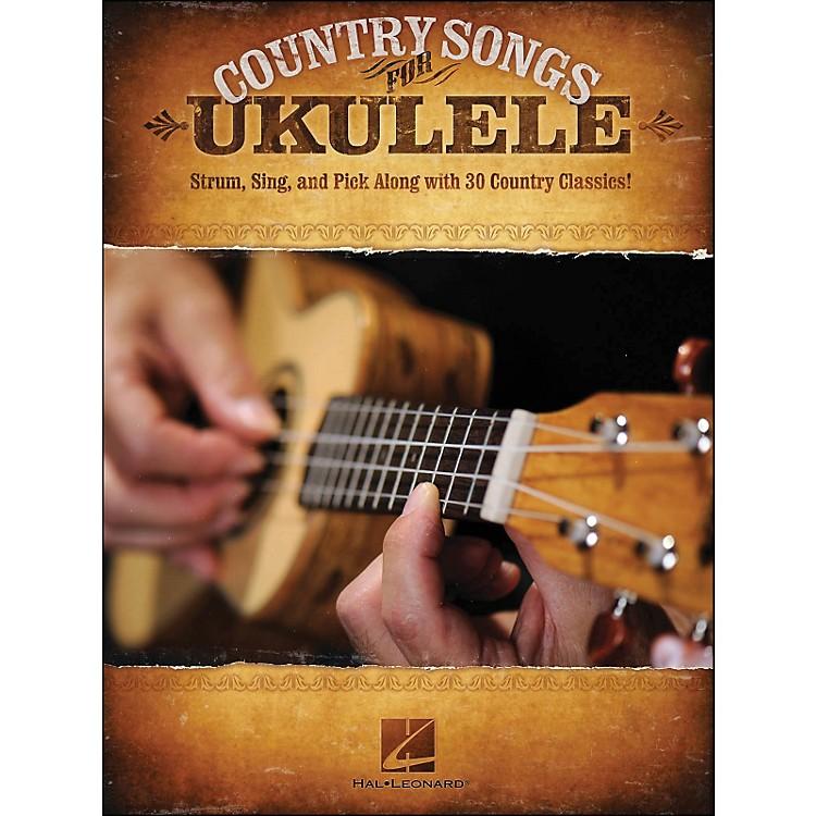 Hal LeonardCountry Songs for Ukulele