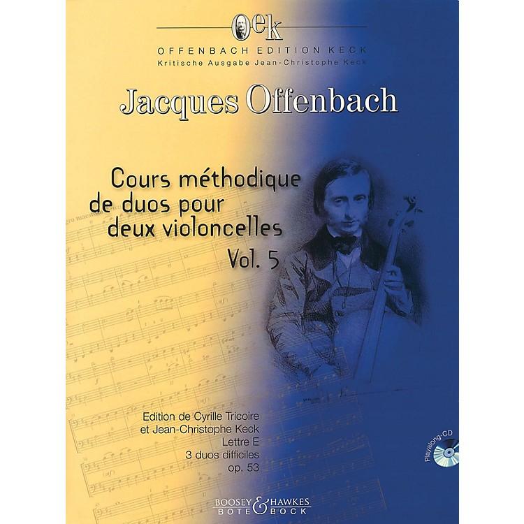 Bote & BockCour méthodique de duos pour deux violoncelles, Vol. 5 Boosey & Hawkes Chamber Music Softcover with CD