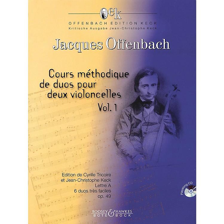 Bote & BockCours Méthodique de dous pour deux violoncelles - Volume 1 Boosey & Hawkes Miscellaneous Softcover with CD