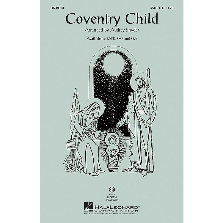 Hal LeonardCoventry Child SAB Arranged by Audrey Snyder
