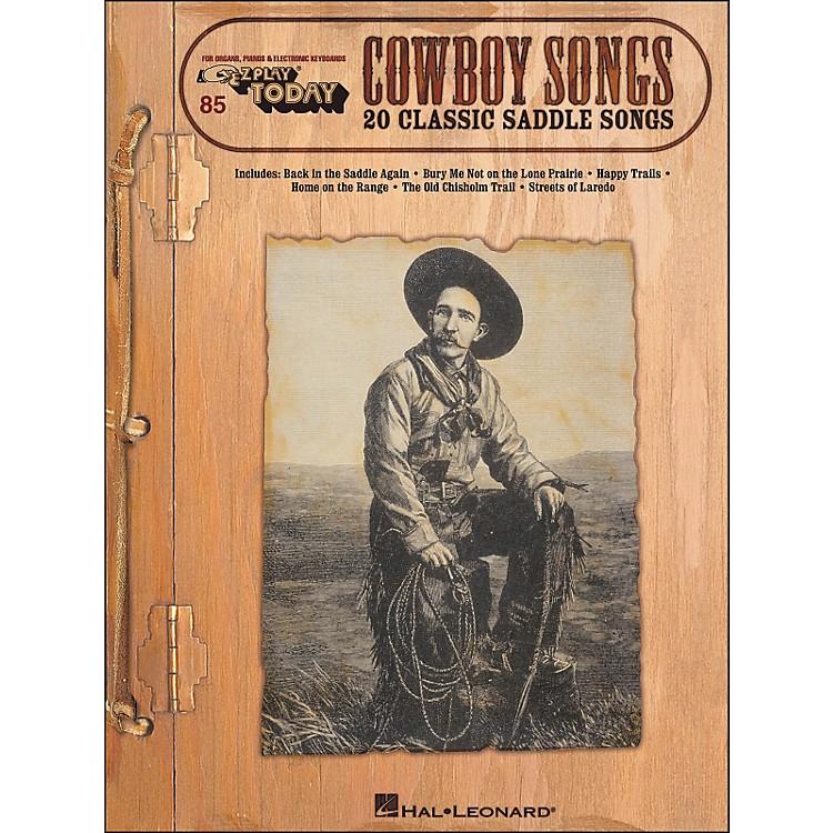 Hal LeonardCowboy Songs E-Z Play 85