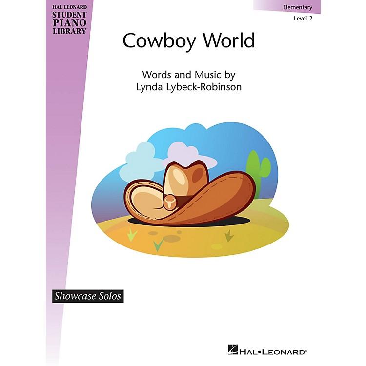Hal LeonardCowboy World Piano Library Series by Lynda Lybeck-Robinson (Level Elem)