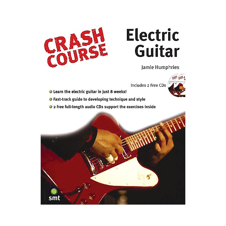 Music SalesCrash Course - Electric Guitar Music Sales America Series Softcover with CD Written by Jamie Humphries