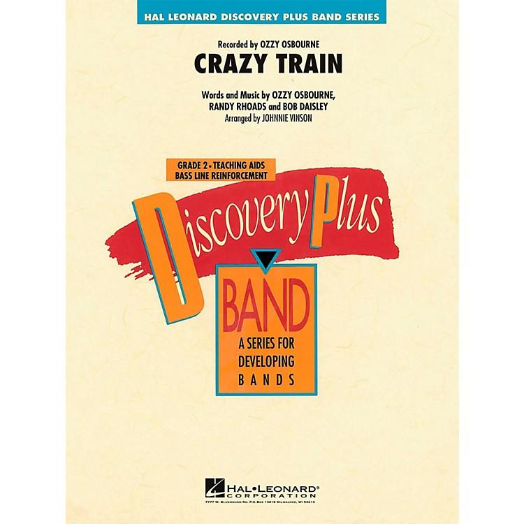 Hal LeonardCrazy Train - Discovery Plus Concert Band Level 2