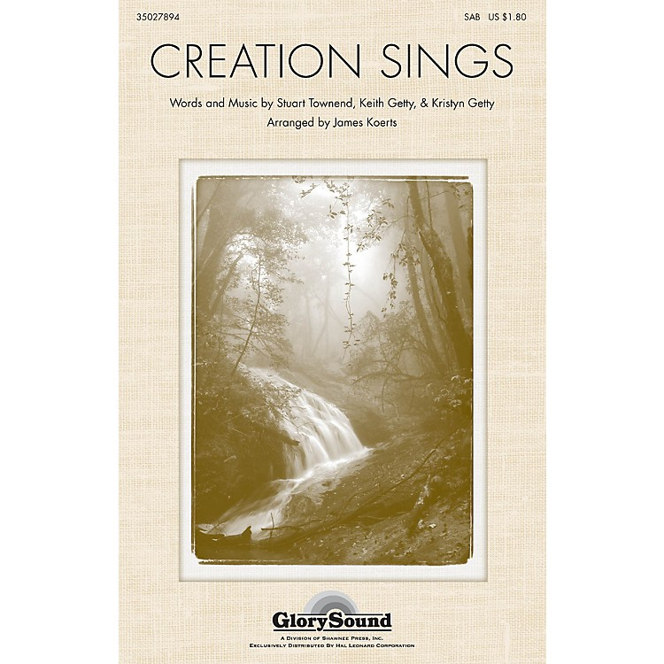 Shawnee PressCreation Sings the Father's Song SATB arranged by James Koerts