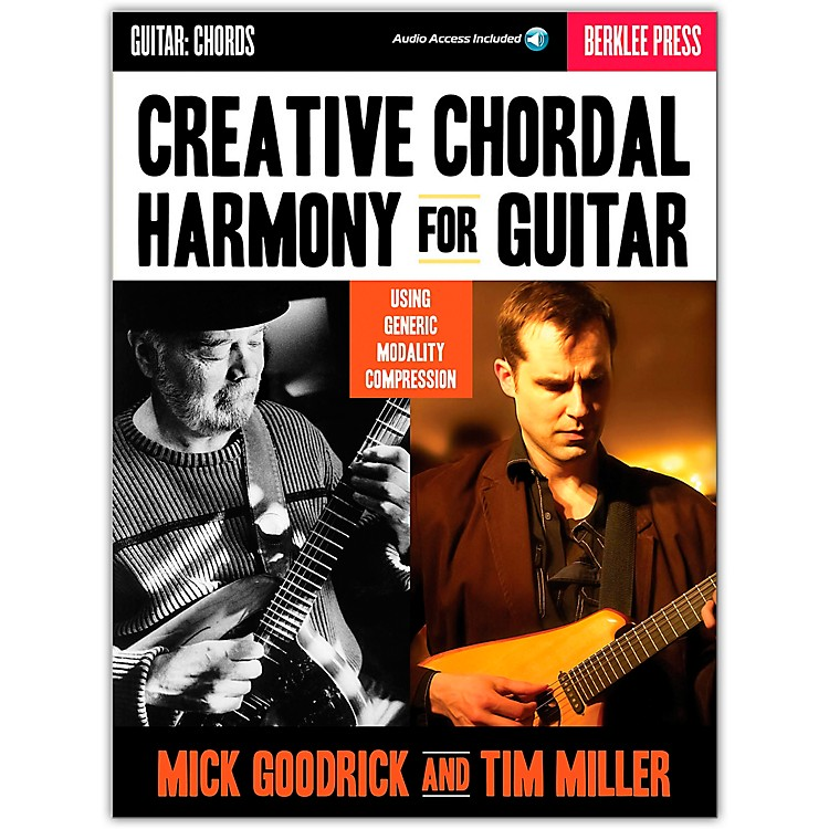 Berklee Press Creative Chordal Harmony For Guitar - Berklee Press Book/Online Audio