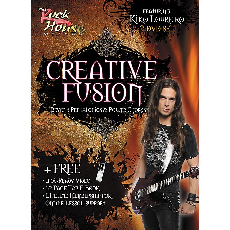Rock HouseCreative Fusion Beyond Pentatonics & Power Chords (2-DVD Set)