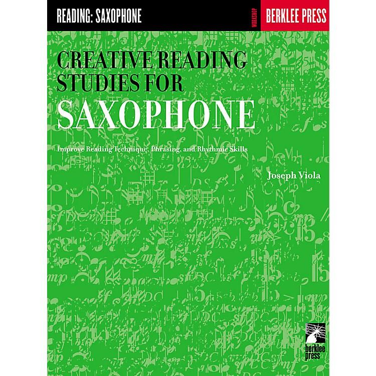 Berklee PressCreative Reading Studies for Saxophone Woodwind Method Series