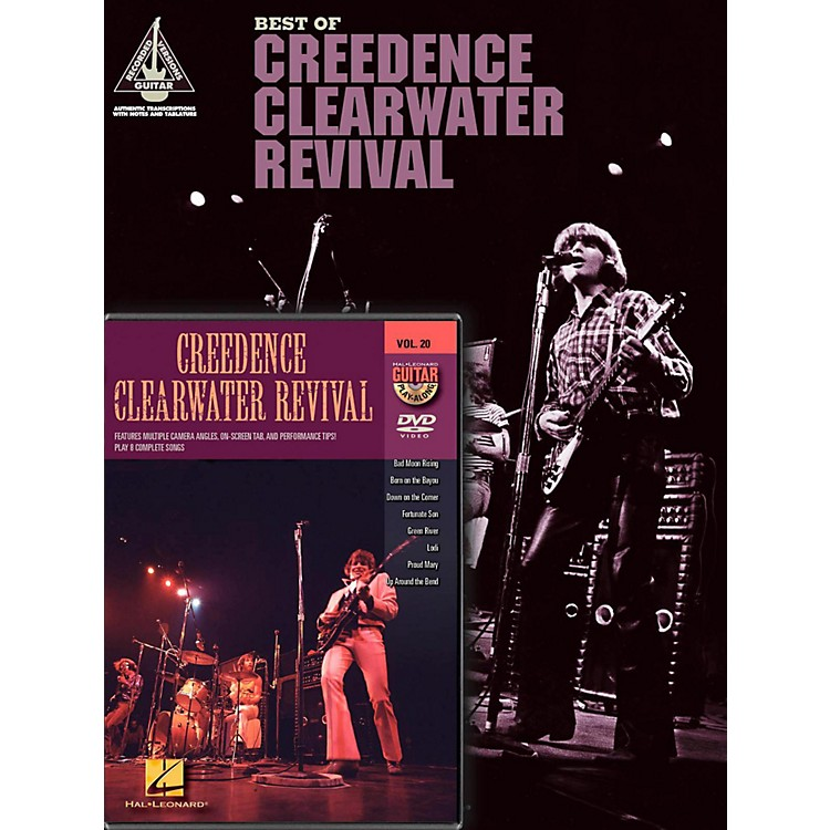 Hal LeonardCreedence Clearwater Revival Guitar Pack
