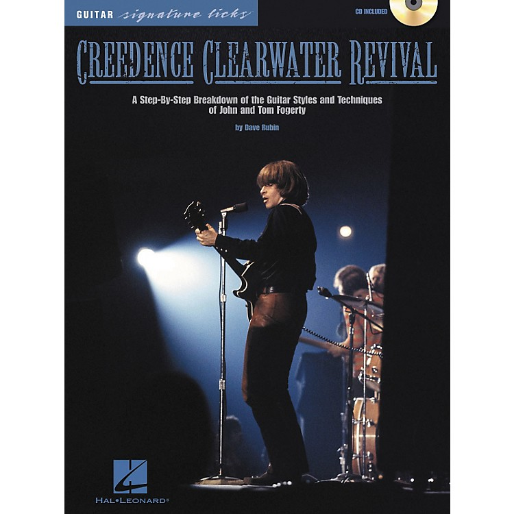 Hal LeonardCreedence Clearwater Revival Guitar Signature Licks CD with Tab