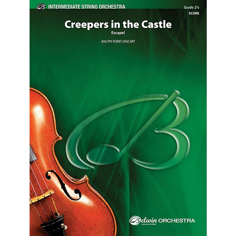 AlfredCreepers in the Castle String Orchestra Grade 2.5