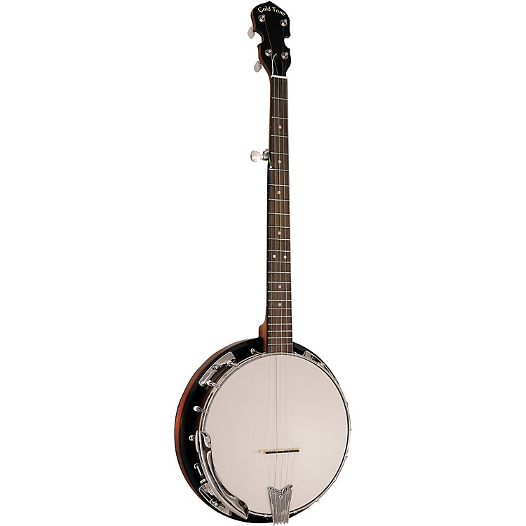 Gold ToneCripple Creek CC-50RP/L Left-Handed Resonator Banjo With Planetary Tuners and Gig BagVintage Brown