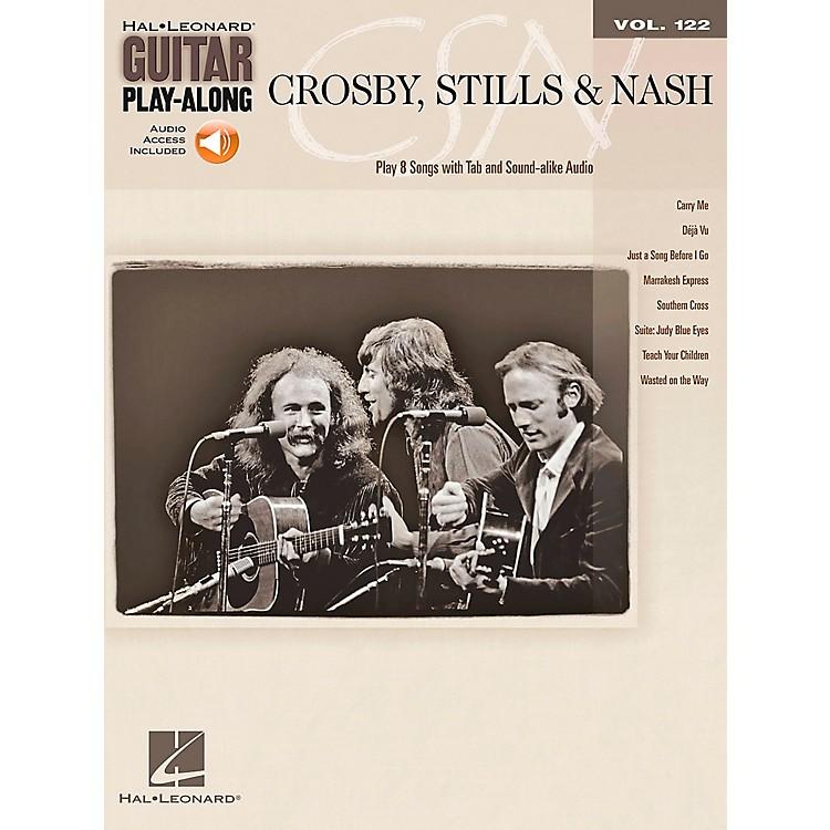 Hal LeonardCrosby Stills & Nash - Guitar Play-Along Volume 122 Book/CD