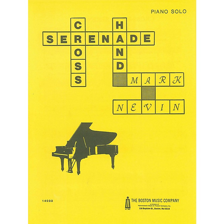 Music SalesCross-Hand Serenade Music Sales America Series