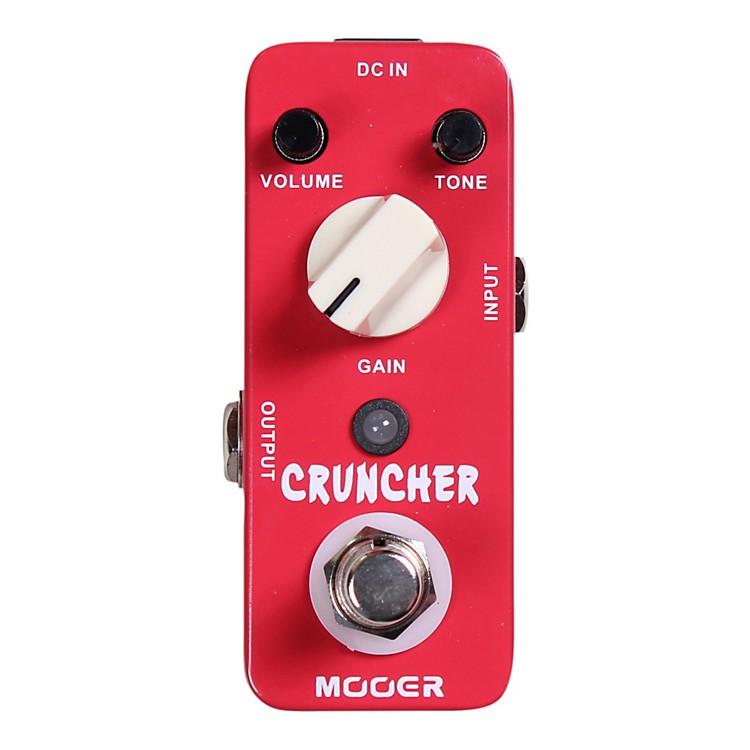 mooer cruncher high gain distortion guitar effects pedal music123. Black Bedroom Furniture Sets. Home Design Ideas