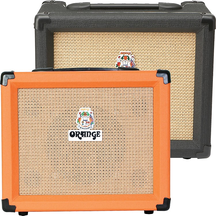 Orange Amplifiers Crush PiX Series CR20LDX 20W 1x8 Guitar Combo Amp Black