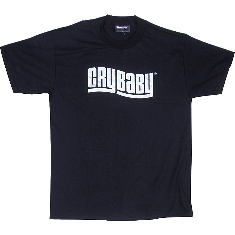 Dunlop Cry Baby T-Shirt Black Medium