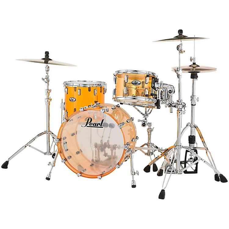 PearlCrystal Beat 3-Piece Jazz Shell PackTangerine Glass