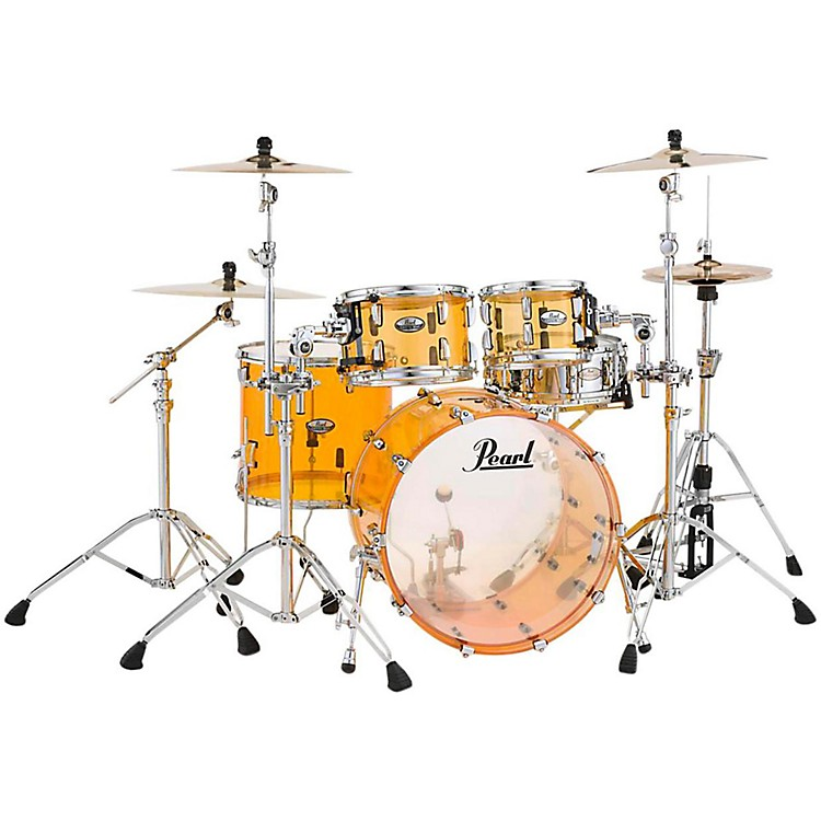 PearlCrystal Beat 4-Piece New Fusion Shell PackTangerine Glass