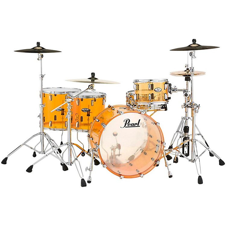 Pearl Crystal Beat 4-Piece Rock Shell Pack Ruby Red